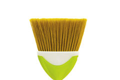 Cleaning broom isolated on the white Royalty Free Stock Photos