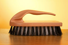 Cleaning brush isolated Royalty Free Stock Images