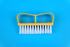 Cleaning brush isolated Stock Photos