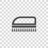 Cleaning brush vector icon Stock Photos