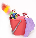 Cleaning bucket Stock Image
