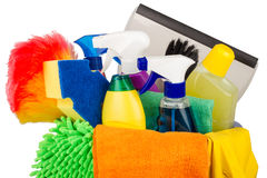 Cleaning bucket Stock Photos