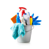 Cleaning bucket Royalty Free Stock Photos
