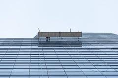 Cleaning budynek Zdjęcia Stock