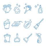 cleaning byter ut lätta symboler för bakgrund den genomskinliga vektorn för skugga Royaltyfria Foton