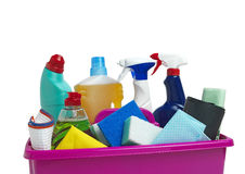 Cleaning Caddy Royalty Free Stock Image