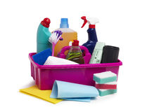 Cleaning Caddy Royalty Free Stock Photography