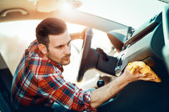 Cleaning of car Royalty Free Stock Photos