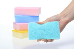 Cleaning cloth Royalty Free Stock Photos