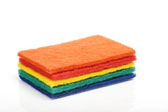 Cleaning cloth Stock Image