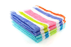 Cleaning cloths Stock Photo