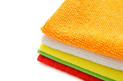 Cleaning cloths Stock Photos