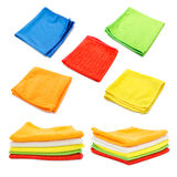 Cleaning Cloths, Towels, Tissues Stock Photography