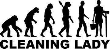 Cleaning damy ewolucja ilustracji