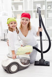 Cleaning day Royalty Free Stock Images