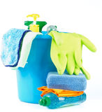 Cleaning dostawcy Fotografia Royalty Free
