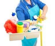cleaning dostawy Fotografia Stock