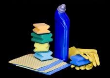 cleaning dostawy Zdjęcie Stock