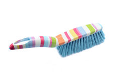 Cleaning dust brush and pan Stock Image