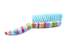 Cleaning dust brush and pan Royalty Free Stock Image