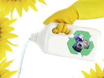 Cleaning ecological product Stock Photo
