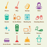 Cleaning elements Stock Photo