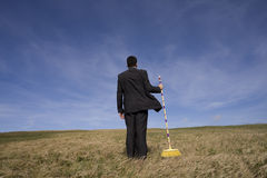 Cleaning the environment Royalty Free Stock Image
