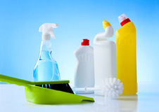 Cleaning eqipment Royalty Free Stock Photos
