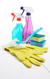 Cleaning equipment Stock Photos