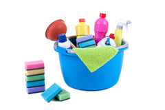 Cleaning equipment Royalty Free Stock Photography