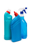 Cleaning equipment isolated on white background Royalty Free Stock Photography