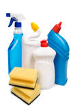 Cleaning equipment isolated on white background Royalty Free Stock Image