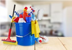 Cleaning stock image