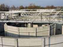 Cleaning equipment tanks. Metallic cleaning equipment tanks, Lithuania Stock Image