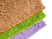 Cleaning feet doormat or carpet for clean your feet. Cleaning feet doormat or carpet texture on white background Royalty Free Stock Image