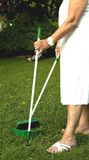 Cleaning the garden Royalty Free Stock Photo
