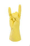 Cleaning glove rocking Royalty Free Stock Image