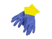 Cleaning Gloves Stock Photo