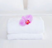 Cleaning in a hotel room Stock Photography