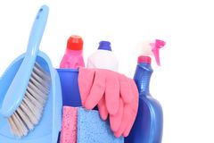 Cleaning house Stock Photography