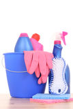 Cleaning house Royalty Free Stock Photography