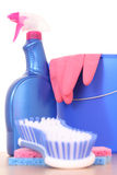 Cleaning house Stock Images