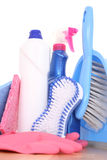 Cleaning house Royalty Free Stock Photos