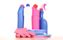 Cleaning house Stock Image