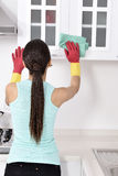 Cleaning the house Royalty Free Stock Images