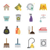Cleaning icon Royalty Free Stock Images