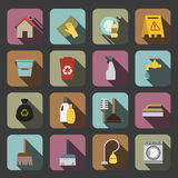 Cleaning icon Royalty Free Stock Photography
