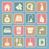 Cleaning icon Stock Images