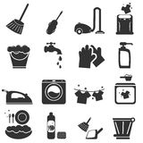 Cleaning Icon Royalty Free Stock Photo