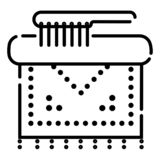 Cleaning icon vector stock illustration